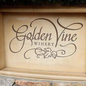 The Golden Vine Winery Logo