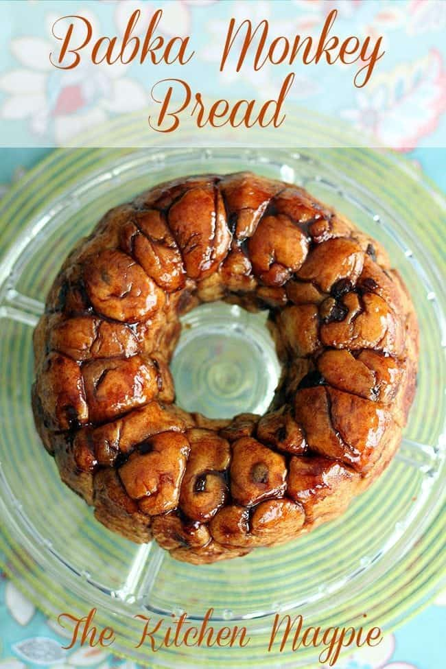 Amazing, rich and decadent Monkey Bread recipe. This uses a eggy, scalded milk dough that makes it the best Monkey bread I've ever had! This recipe is for two bundts, making it perfect for family gatherings. #easter #bread #babka #monkeybread #dessert