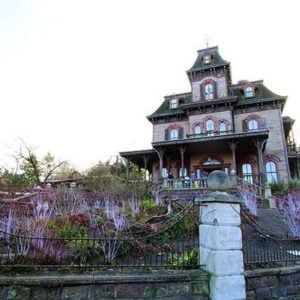 Phantom Manor with Western theme at Disneyland Paris