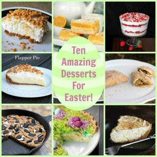easterdessertscollage