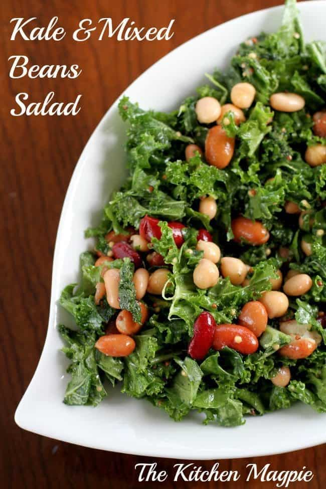 Kale & Mixed Bean Salad