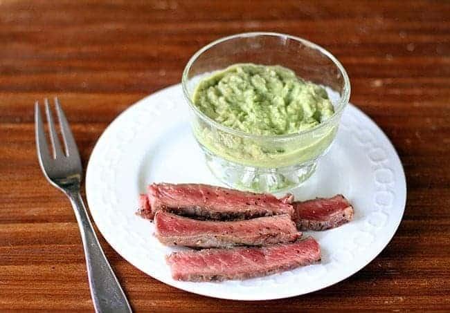 BBQ Steak & Horseradish Guacamole