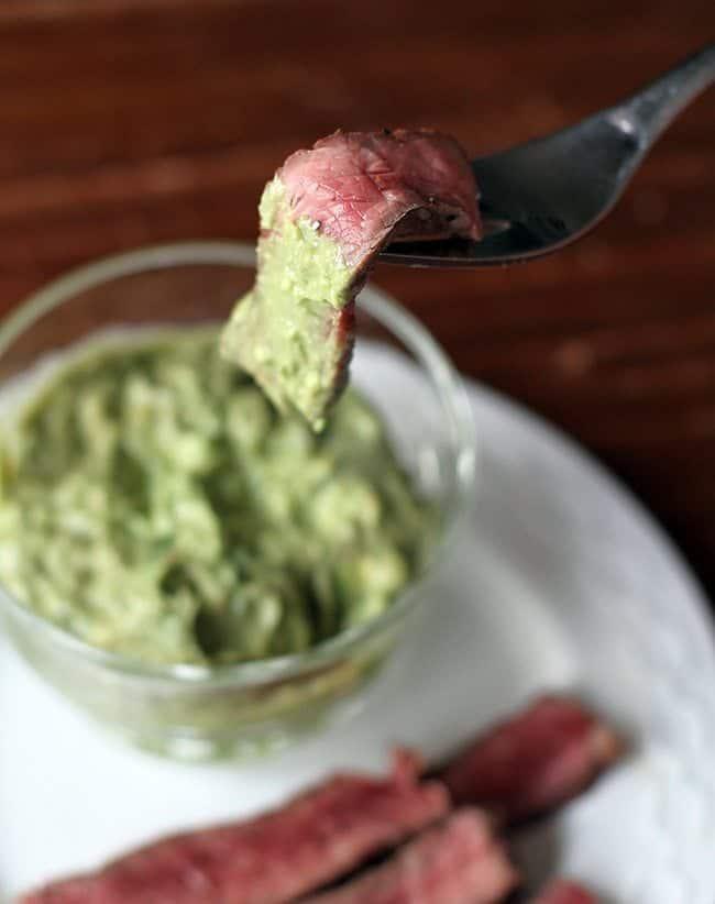 Horseradish Guacamole