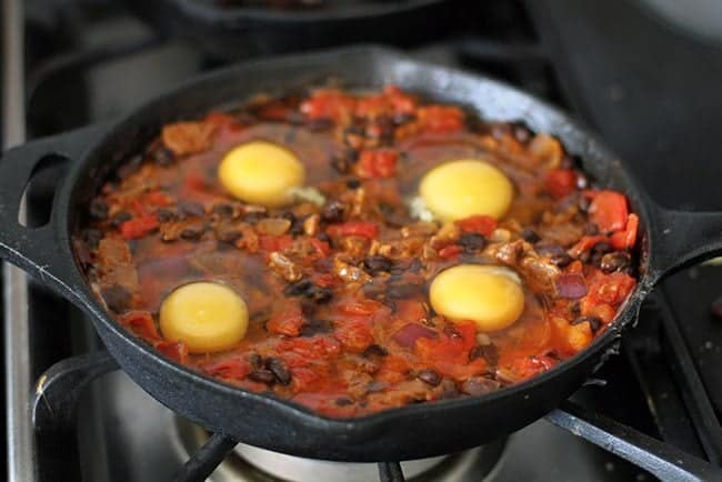 Steak & Eggs Skillet