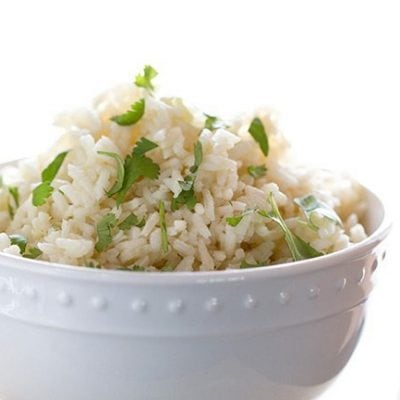 How to Make Cilantro Lime Rice & Cookbook Chat