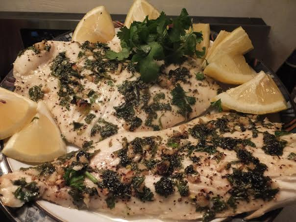 Garlic & Herb Fish