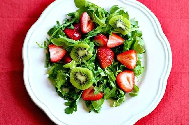 Strawberry, Kiwi & Lime Salad