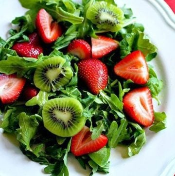 Strawberry, Kiwi & Lime Salad