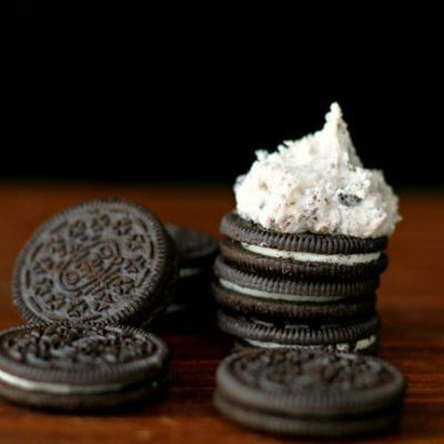 Oreo Cookies n' Cream Buttercream Icing