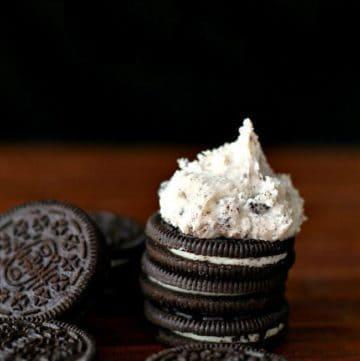 Oreo Cookies n' Cream Buttercream Frosting