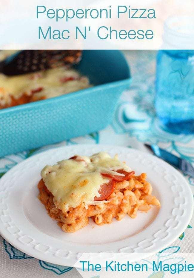 Pepperoni Pizza Mac N'Cheese