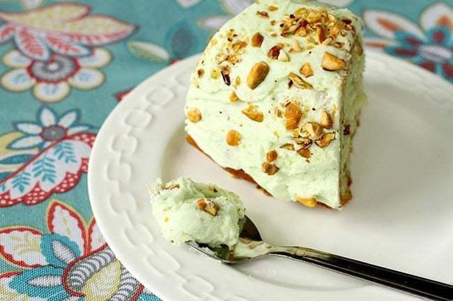 Pistachio Pudding Buttercream Icing