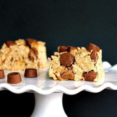 Rolo Cinnamon Toast Crunch Bars