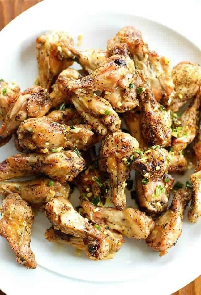 Amazing Salt And Pepper Chicken Wings The Kitchen Magpie