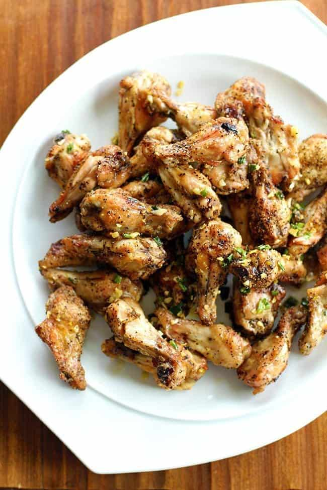 Amazing Salt and Pepper Chicken Wings - The Kitchen Magpie