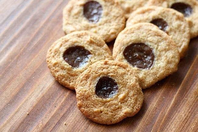 Apple Caramel Cake Mix Cookies
