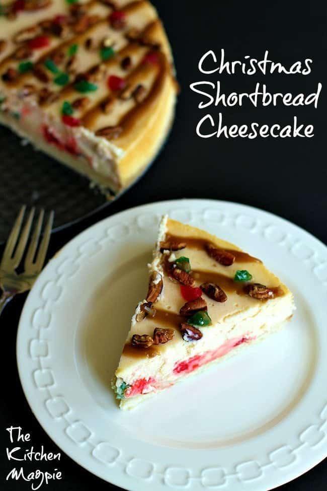 Christmas Shortbread Cheesecake