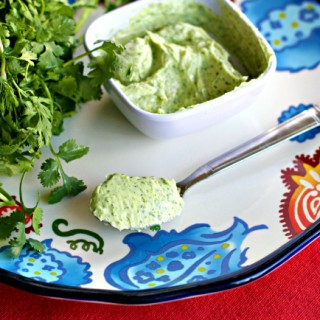 How To Make Cilantro Butter