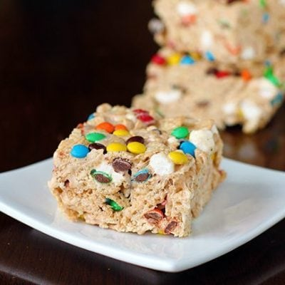 M&M S'Mores Cinnamon Toast Crunch Cereal Bars