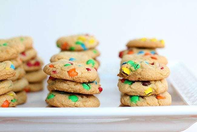 Mini Cookie Snack Packs : Mini M&M Cookies Recipe!
