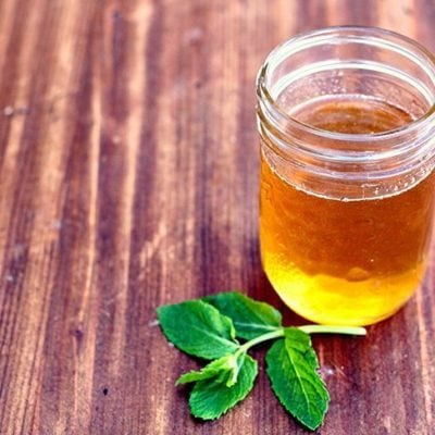 How To Make Mint Honey Simple Syrup