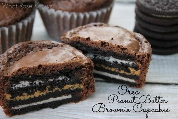 oreopeanutbutterbrowniecupcakes4