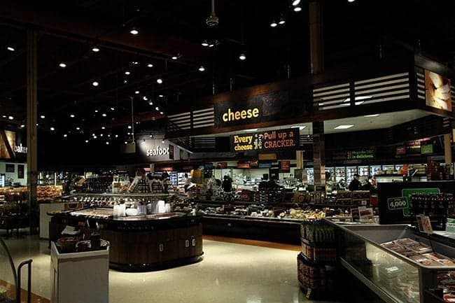 gorgeous and huge cheese section