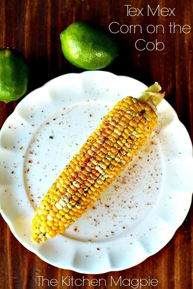 Tex Mex Corn on the Cob