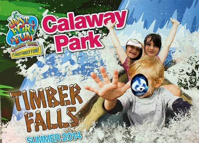 photo board at Calaway Park, Calgary Alberta