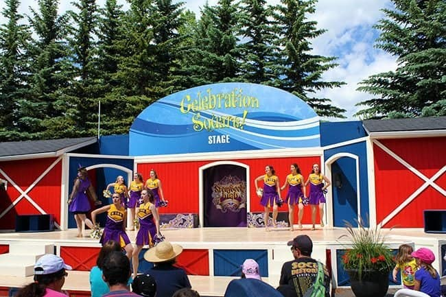 stage shows at the Celebrations Square stage