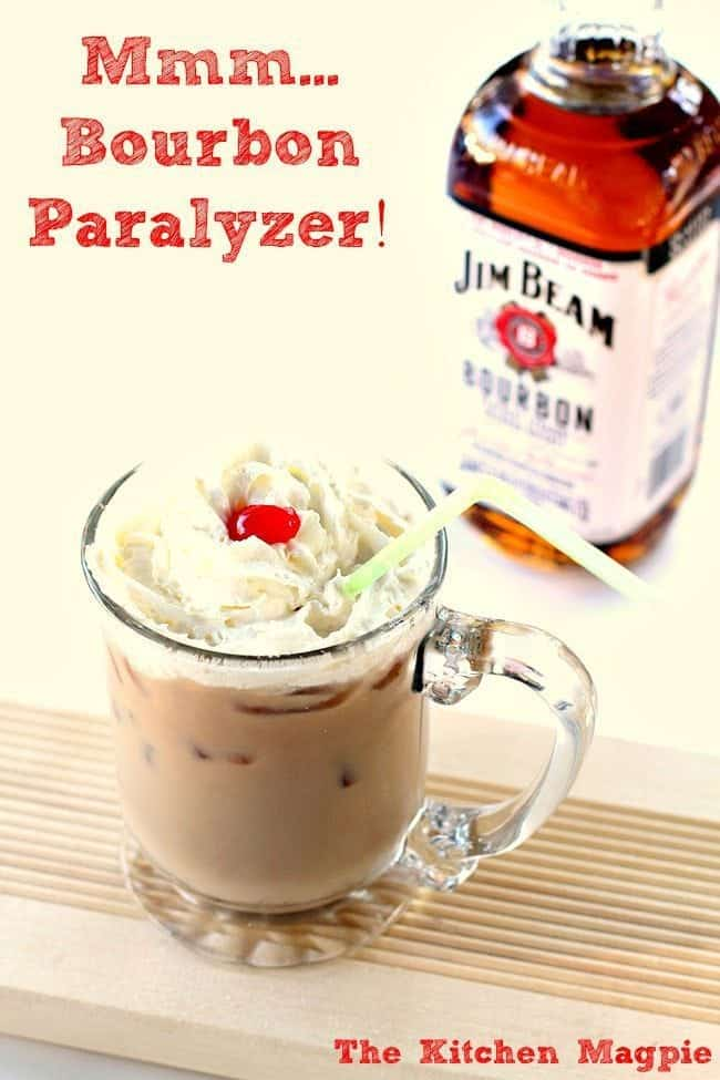 A modern take on the classic Paralyzer. It's SO much better with bourbon! #cocktail #bourbon