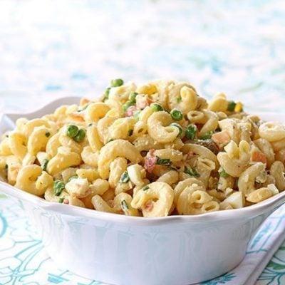 Classic Retro Picnic Macaroni Salad