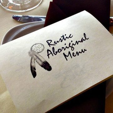 Chef Shane Chartrand's Rustic Aboriginal Dinner