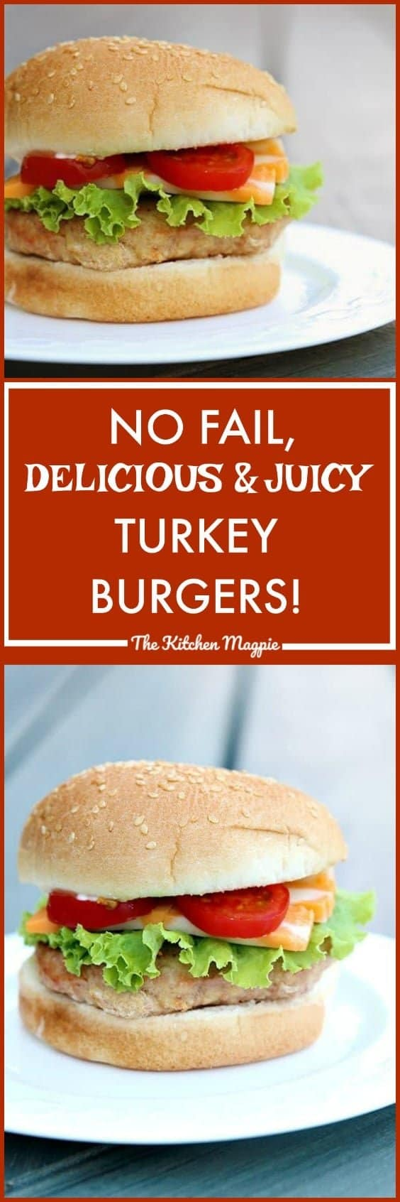 No Fail, Seriously Delicious & Juicy Turkey Burgers! I show you the tricks and secrets to making a GREAT turkey burger!