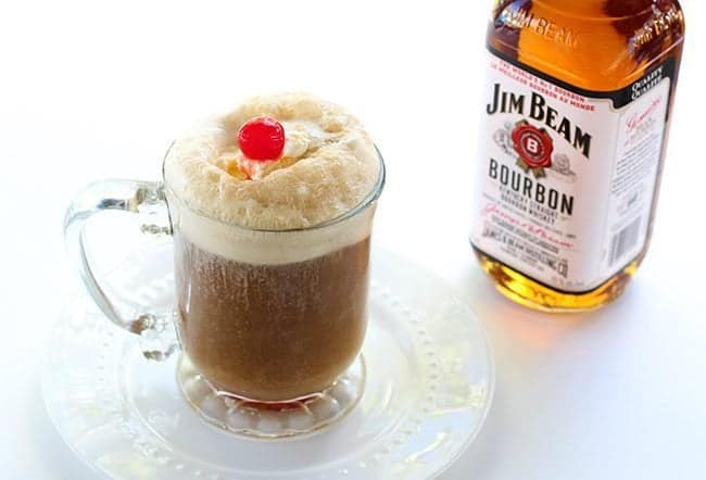 Bourbon Root Beer Ice Cream Floats from @kitchenmagpie