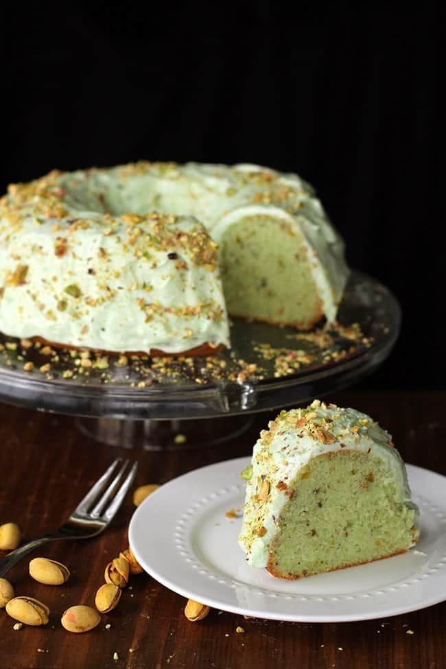 homemadepistachiopuddingcake4
