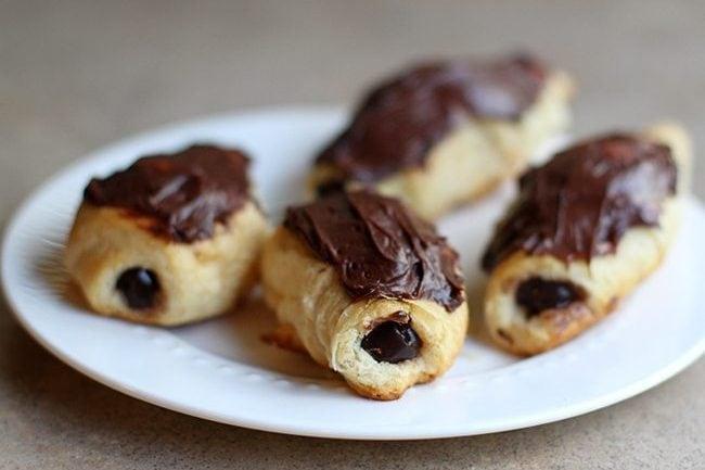Three Ingredient Cheater Chocolate Eclairs