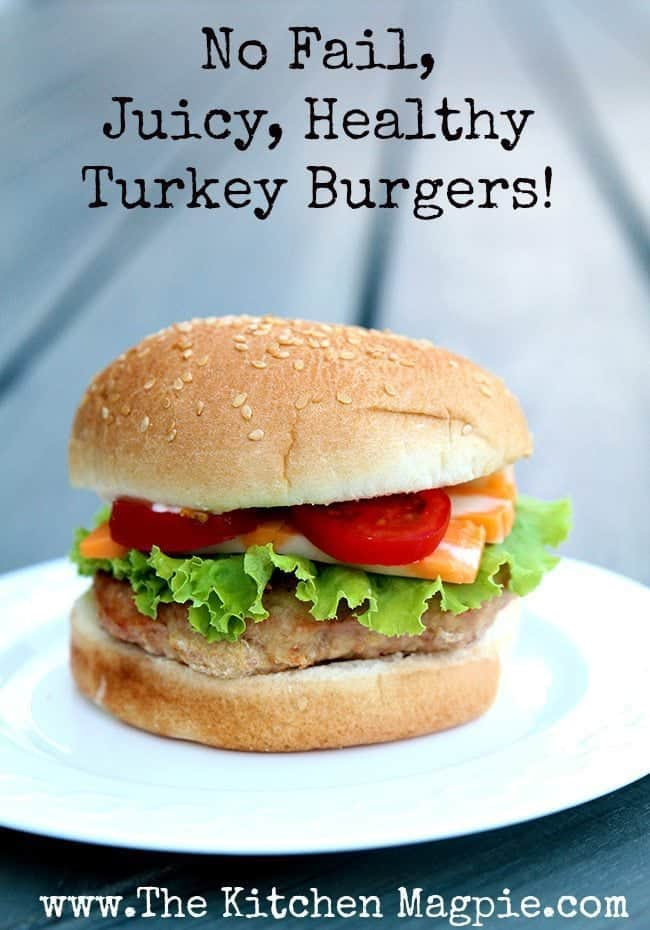 Turkey Burgers from @kitchenmagpie