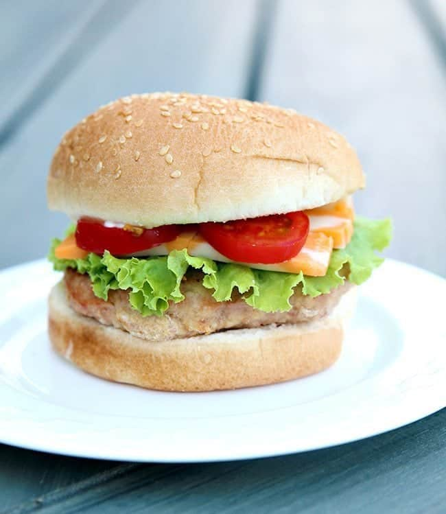 Juicy Turkey Burgers From @kitchenmagpie