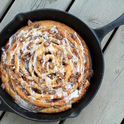 Two Ingredient Giant Turtles Cinnamon Bun