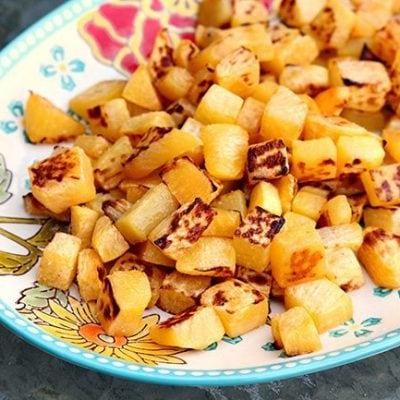 Sea Salt & Olive Oil Roasted Turnips