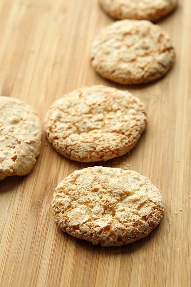 Italian Amaretti - gorgeous almond based cookies