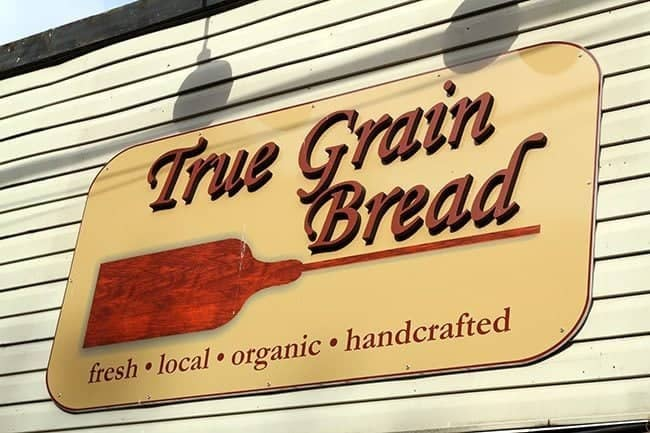 signage of The Grain Bread bakery