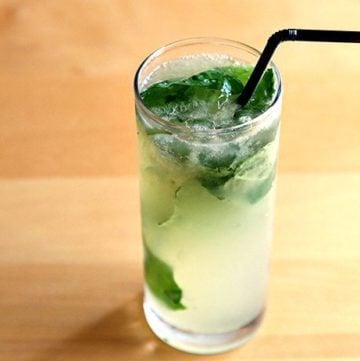 How To Make a Gin Basil Smash