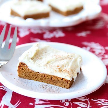 Gingersnap Cookie Bars