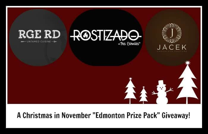 "A Christmas in November ""Edmonton Prize Pack"" Giveaway!"