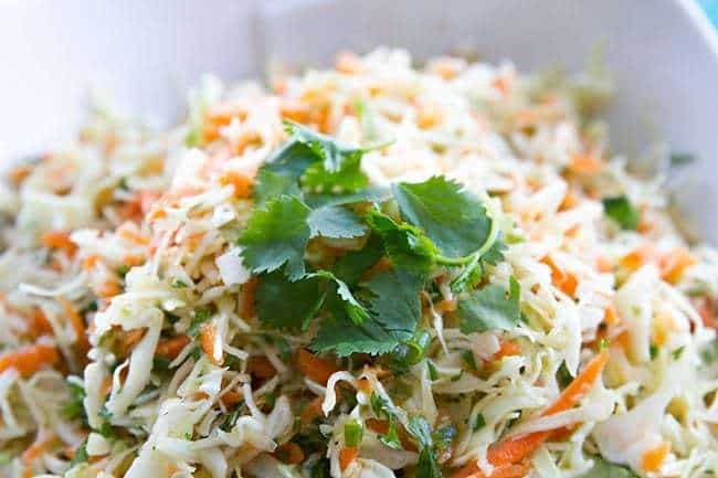 Simple Mexican Coleslaw | The Kitchen Magpie