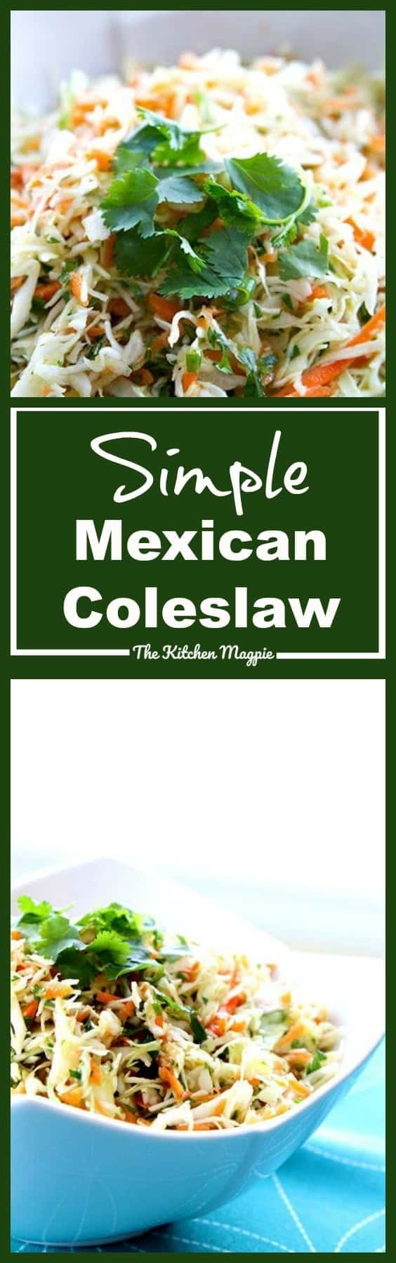 How to Make Simple Mexican Coleslaw from @kitchenmagpie