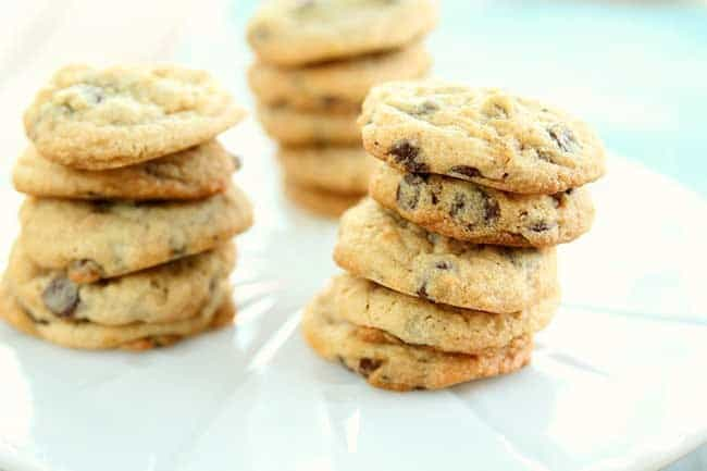 Cheesecake Chocolate Chip Cookies from @kitchenmagpie