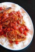 Smashed Tomato Chicken